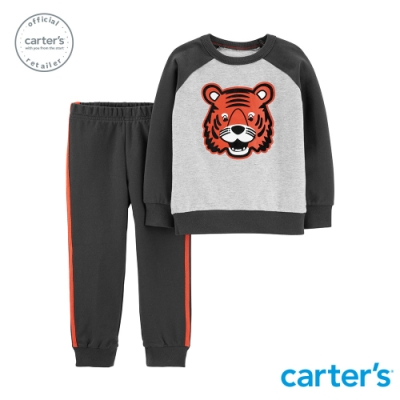 Carter s台灣總代理 小老虎上衣2件組