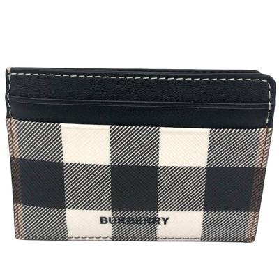 BURBERRY 經典格紋名片夾/信用卡夾