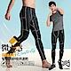 【Run Power】微光感織線速乾運動褲/男性專用(灰白) product thumbnail 1