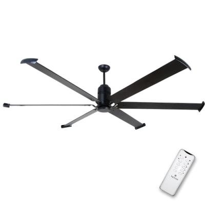 阿拉斯加 FORTIS工業吊扇(遙控)-黑色