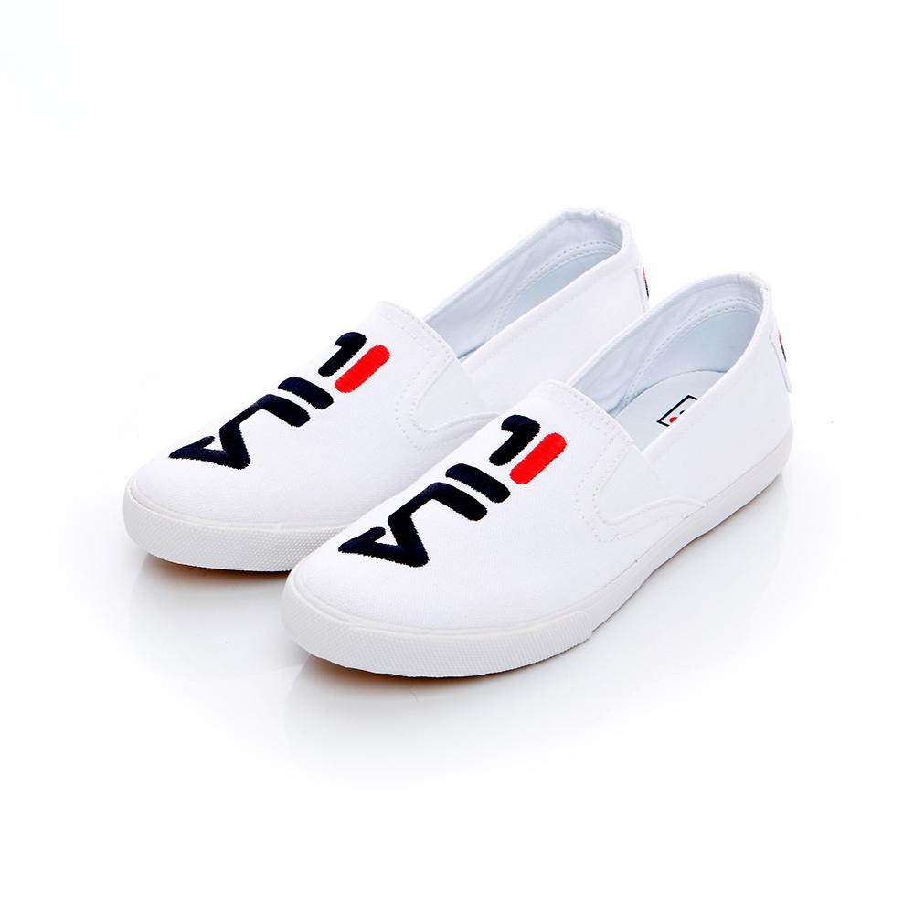 FILA 女款休閒鞋-白 5-C115T-110