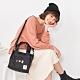 【OUTDOOR】SNOOPY聯名款Lady系列2WAY手提側背包-黑色 ODP20C03BK product thumbnail 1