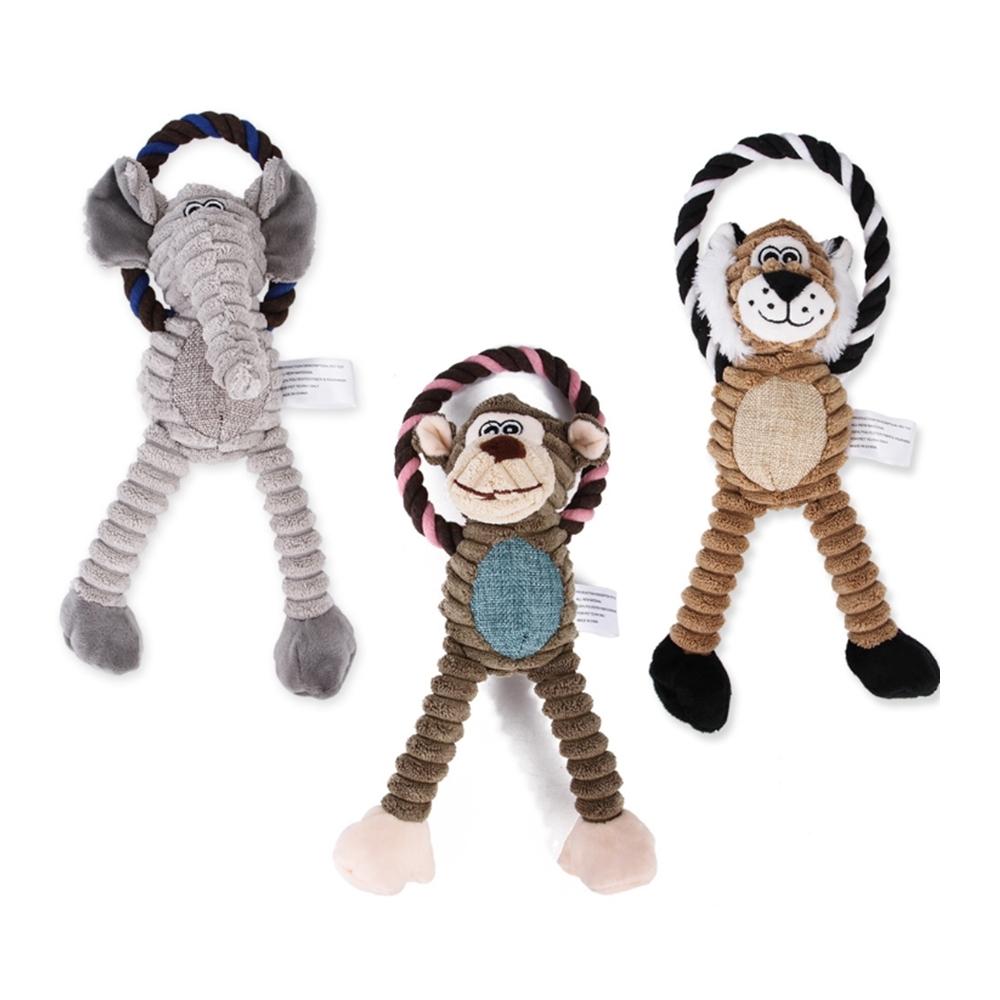 寵愛有家-可愛動物造型咬咬玩具(寵物啃咬玩具)
