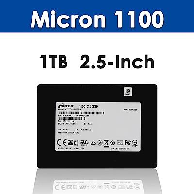 Micron 1100 1TB 2.5吋 SSD(五年保)