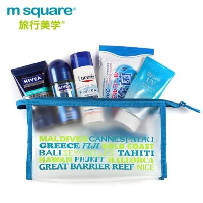 m square字母防水化妝包S