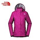 The North Face北面女款粉色防水透氣防風外套|3LBK146