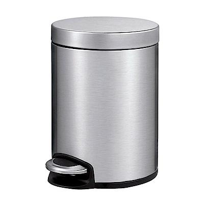 EKO 完美心悅緩降靜音不鏽鋼垃圾桶 小容量5L