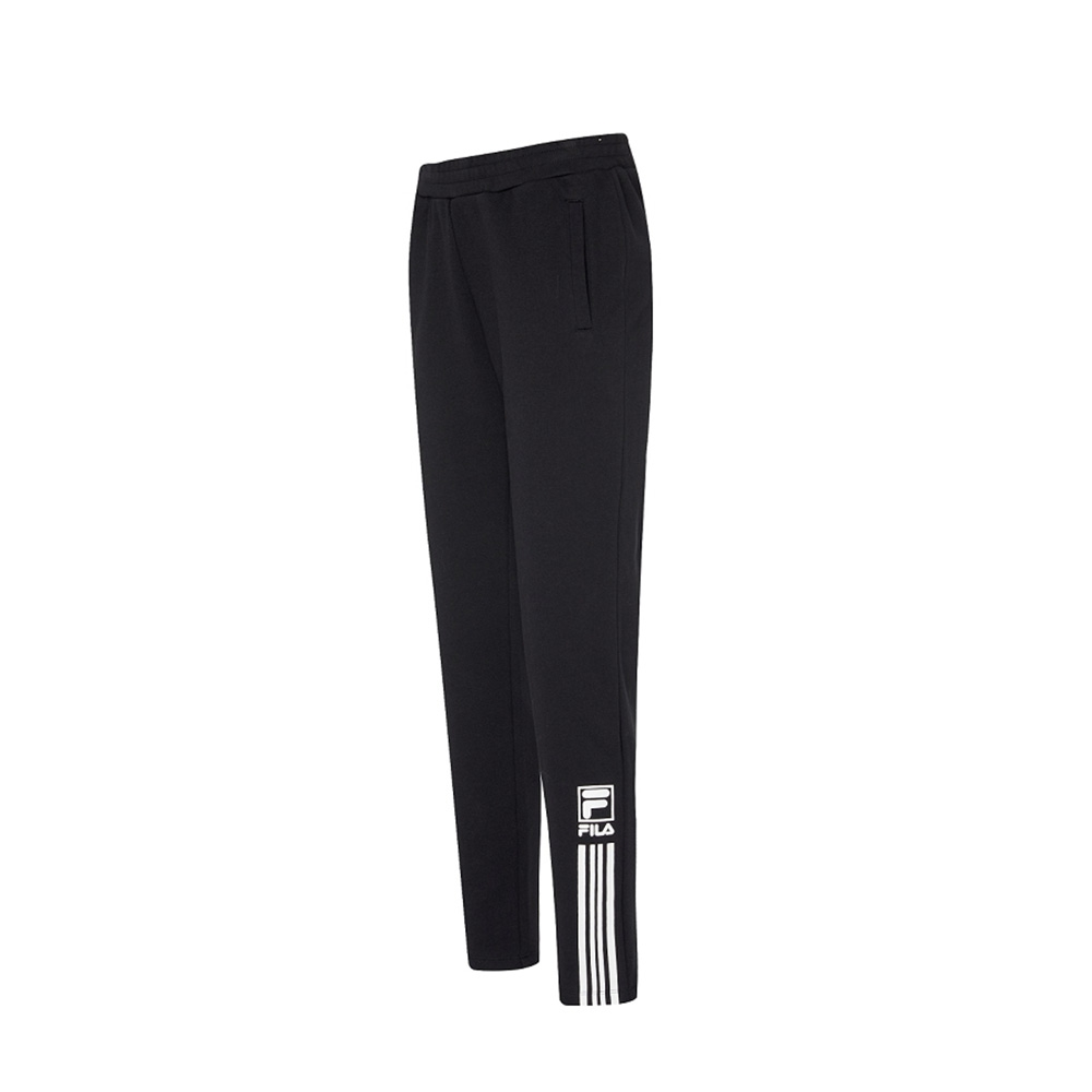 FILA 女針織長褲-黑色 5PNV-5466-BK