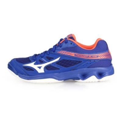 MIZUNO 男女 排球鞋 THUDNER BLADE 藍白橘