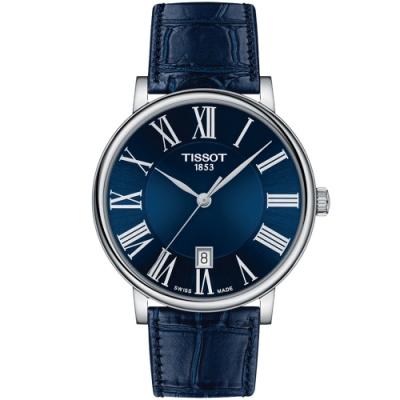 TISSOT天梭 CARSON PREMIUM經典時尚手錶(T1224101604300)
