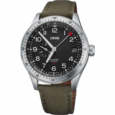 ORIS 豪利時 Big Crown ProPilot GMT小秒針機械錶