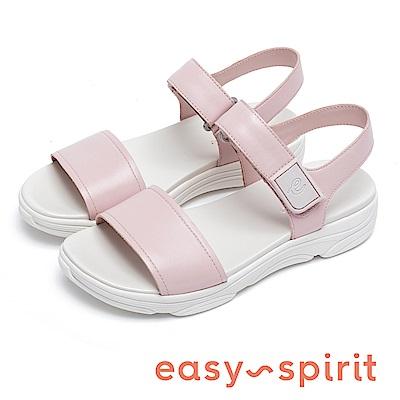 Easy Spirit OLYMPIA 沁涼寬版厚底增高涼鞋-粉色