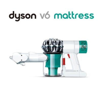 Dyson戴森 V6 Mattress HH08 無線除塵蹣吸塵器(白綠色)