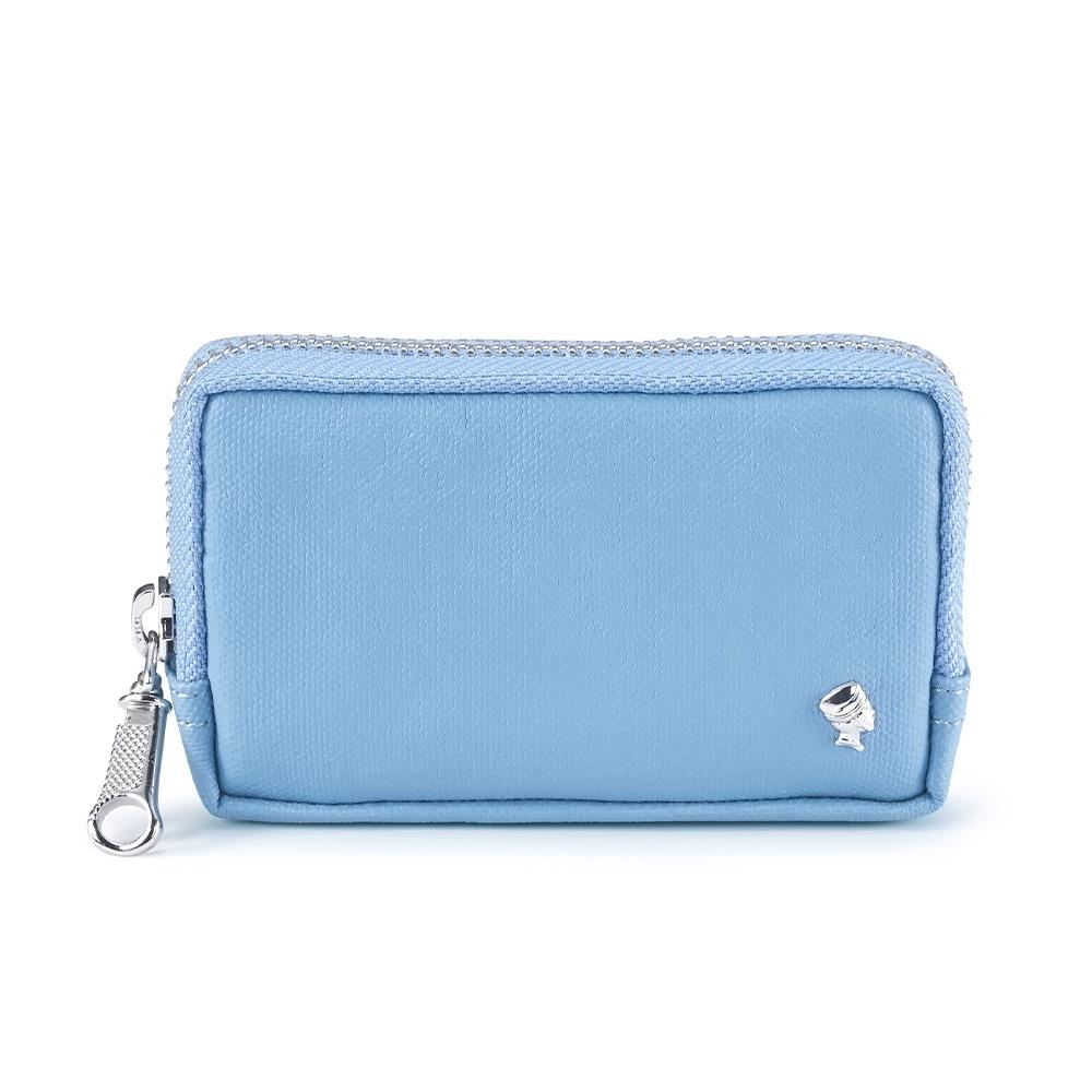 PORTER - 輕甜繽紛SPIRIT實用零錢包 - 天影藍(銀)