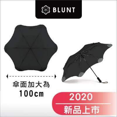 2020 新款_ BLUNT Metro_半自動折傘- 加大傘面-時尚黑