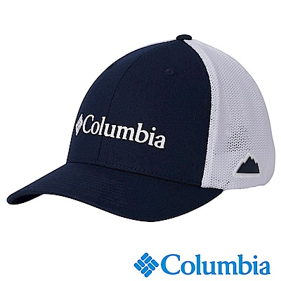 Columbia哥倫比 男女款-中性LOGO卡車帽-藍色 UCU94890NY