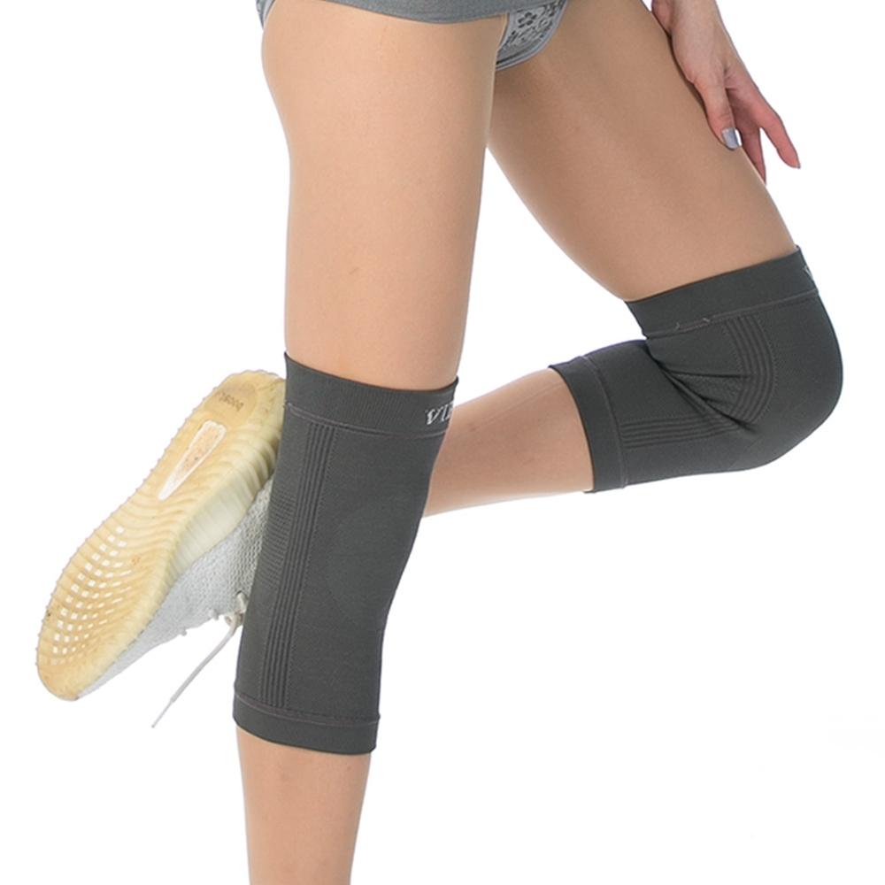 【JS嚴選】*任我行*日式保健銀纖維能量護膝(銀纖護膝*2入+竹膝*2入)
