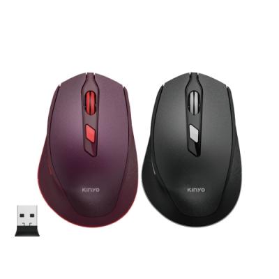 KINYO 2.4GHz無線靜音滑鼠GKM-917