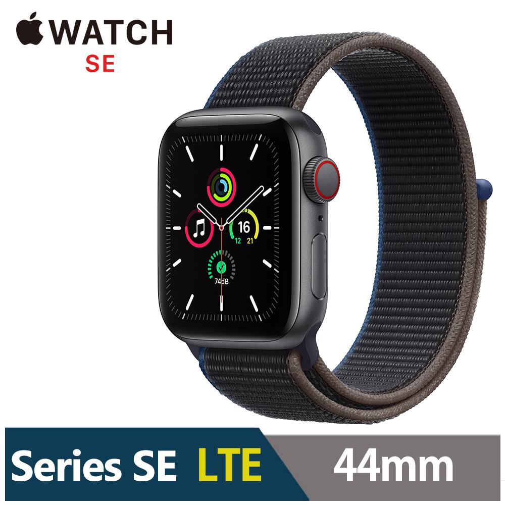 Apple Watch SE 44mm 鋁金屬錶殼配運動型錶環(GPS+Cellular版) product image 1