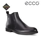ECCO VITRUS III 紳士氣質皮革正裝短靴 男-黑