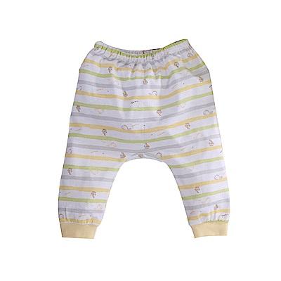印花純棉薄款初生嬰兒褲 a70243 魔法Baby