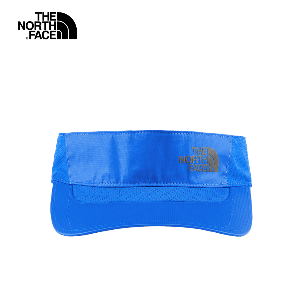 The North Face北面男女款藍色吸濕排汗運動帽 2SBTF89
