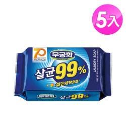【韓國 MKH無窮花】抗菌洗衣皂 5入