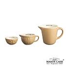 MASON 復古陶瓷迷你量杯3件組(黃)