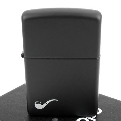ZIPPO 美系~Pipe Lighter~煙斗用打火機~黑色烤漆