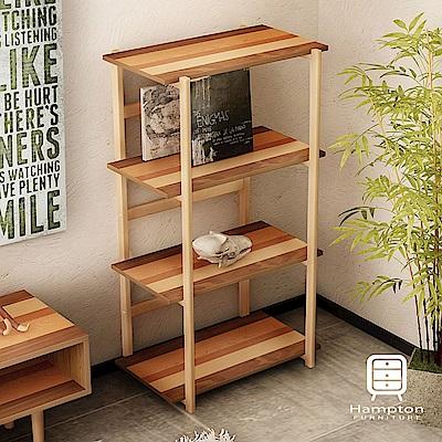 漢妮Hampton米緹日式拼木收納架-60x38.7x107cm