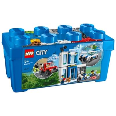樂高LEGO 城市系列 - LT60270 警察顆粒盒