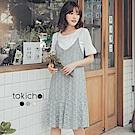 東京著衣 甜美花季兩件式洋裝-S.M(共三色)