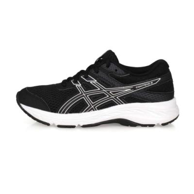 ASICS 中童慢跑鞋 CONTEND 6 GS 黑白
