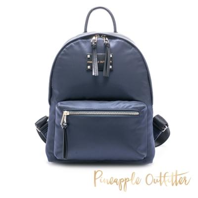 Pineapple Outfitter 輕巧尼龍大款簡約百搭後背包-藍色