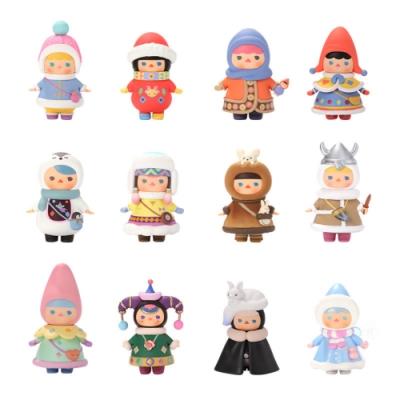 Pucky 畢奇精靈冬日寶寶系列公仔盒玩(盒裝12入)