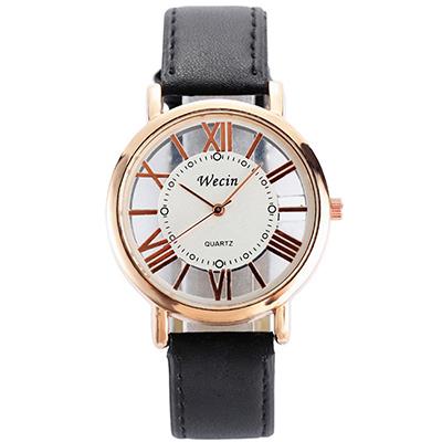 Watch-123 好的情人-鏤空羅馬時標超好看手錶