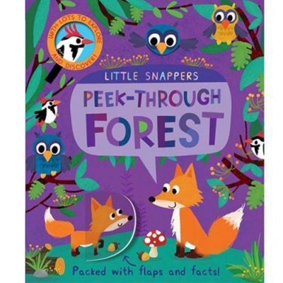 Peek-Through Forest 與森林共舞 硬頁翻翻操作書