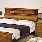 AS-亞爾維斯實木雙人加大6尺床頭-180x36x120cm