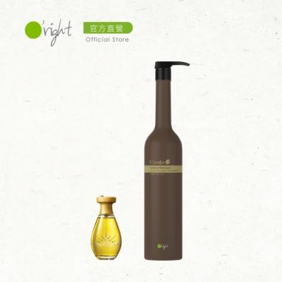 O right 歐萊德 手刀囤貨組-咖啡因養髮液100ml限定版+咖啡因洗髮精1000ml