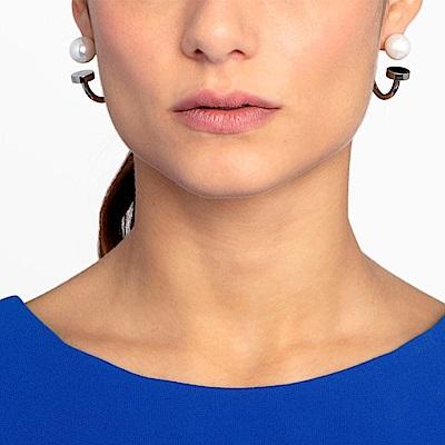 CALVIN KLEIN Bubbly 系列珍愛鋼色耳環