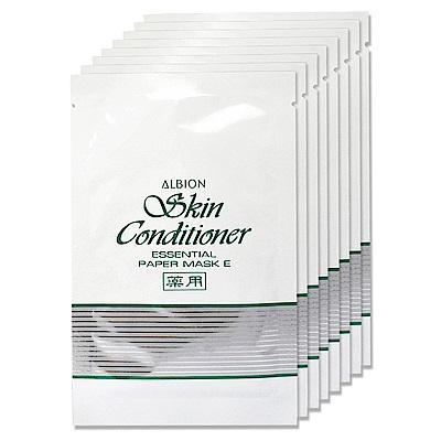(即期品)ALBION艾倫比亞 健康面膜E12mlx8入