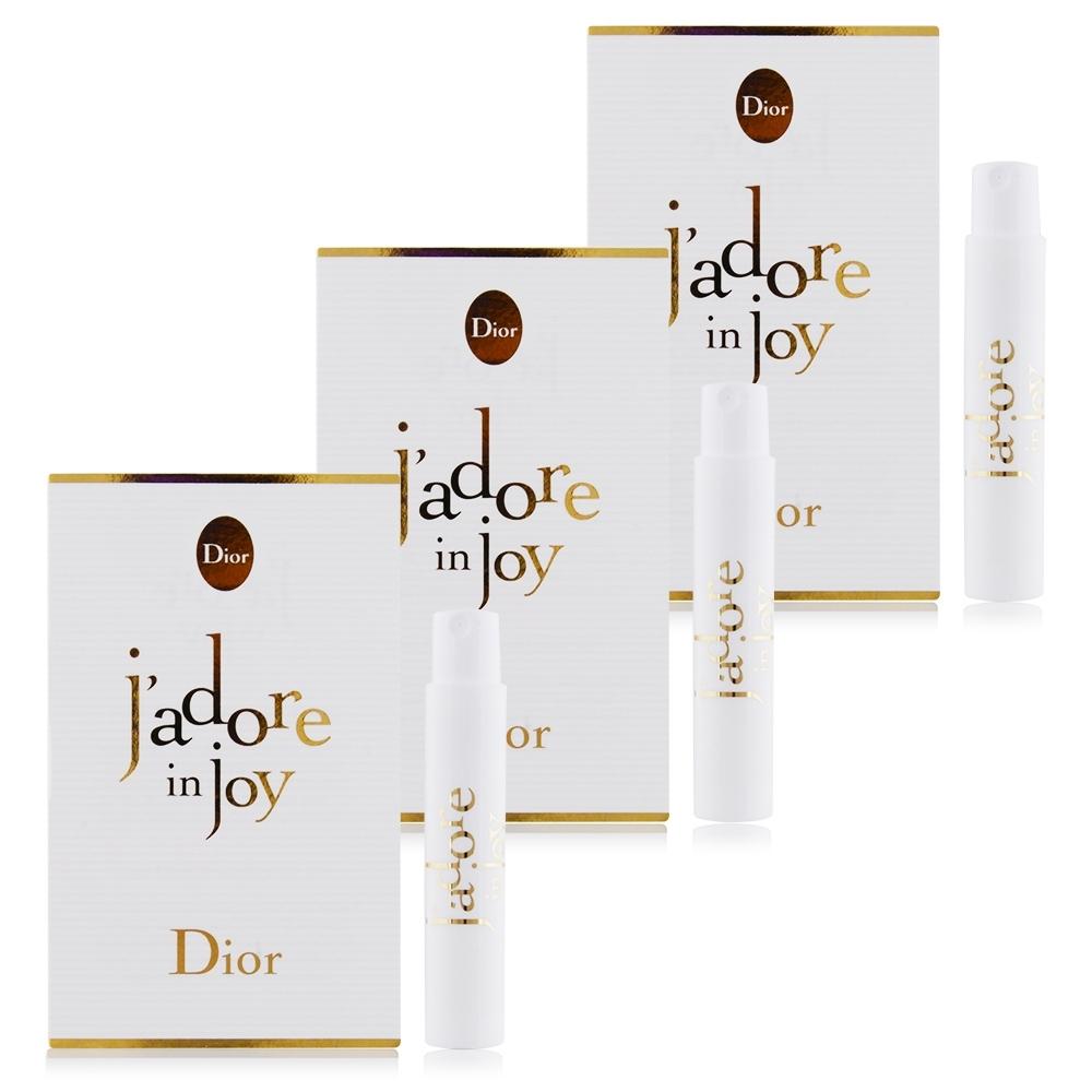 Dior 迪奧 J'Adore in joy 愉悅淡香水 針管香水1mlX3