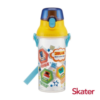 Skater直飲480ml透明水壺-鐵道王國RAIL