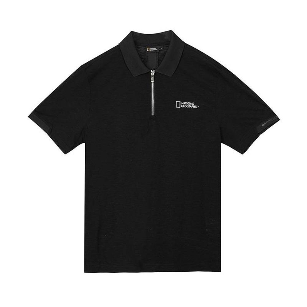 NATIONAL GEOGRAPHIC 男 National Geographic 短袖POLO衫 碳黑-N202MPL220198