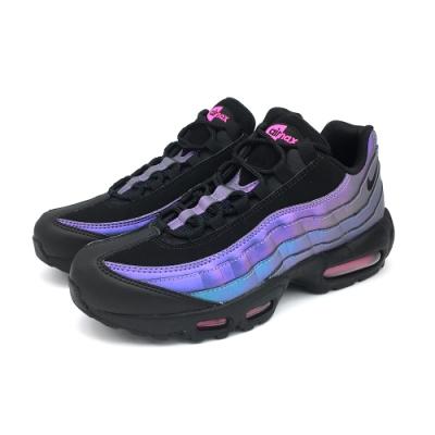 NIKE  AIR MAX 95 PRM 男休閒鞋 黑藍紫