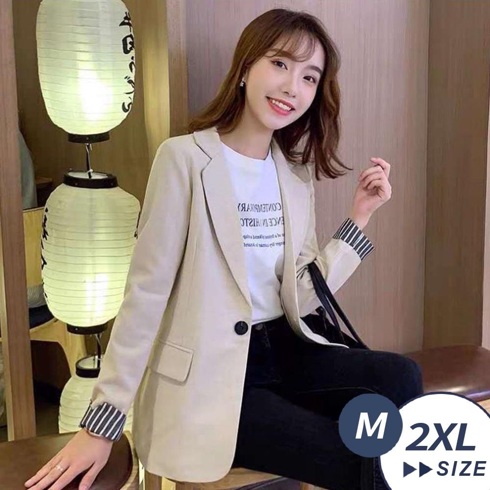 【LANNI 藍尼】現+預 魅力時尚修身氣質西裝外套(西服/上班族)