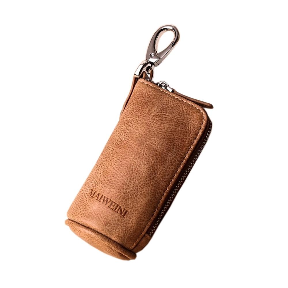 玩皮工坊-真皮頭層牛皮大容量腰掛汽車遙控鑰匙包鑰匙套KB49