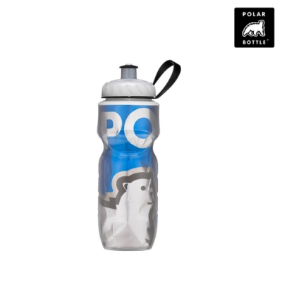 【Polar Bottle】20oz保冷水壺 大熊系列 Big Bear Blue