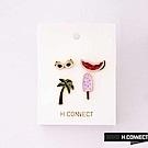 H:CONNECT 韓國品牌 -可愛造型別針組-紫