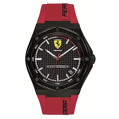 Ferrari 法拉利 極速奔馳跑車套組腕錶/0870030